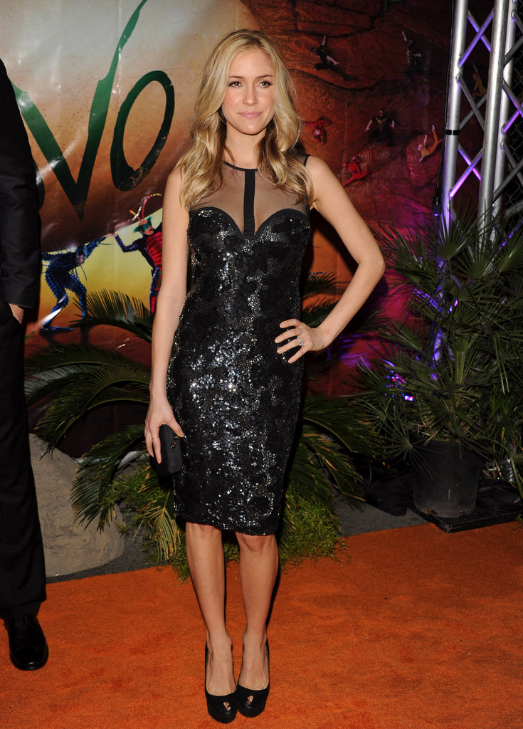 "Pregnant Kristin Cavallari at the Cirque du Soleil ""OVO"" Celebrity Opening Night Gala."
