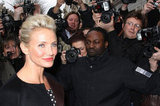 Cameron Diaz and Bar Refaeli Go Front Row For Dior