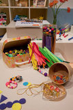 Beading and jewelry-making kits.