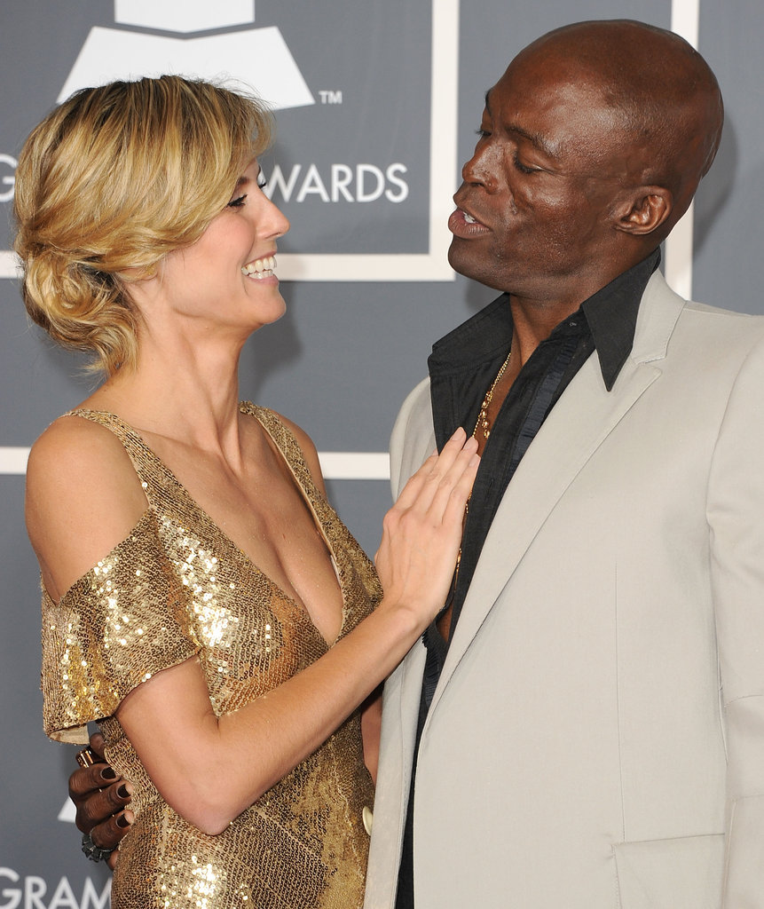 With their good looks and talent, Heidi and Seal were one of our favorite musician-model couples.