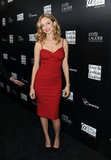Heather Graham wore a little red dress to a charity event in LA.