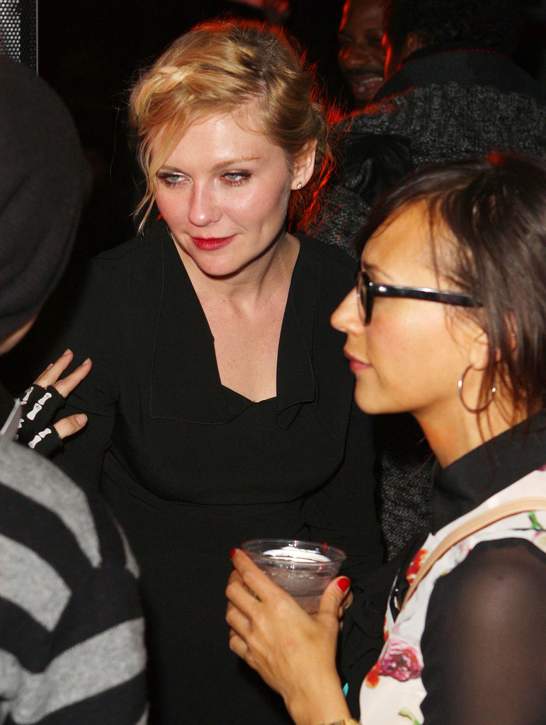 Kirsten Dunst and Rashida Jones partied together.