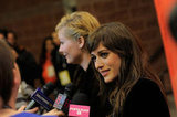 Lizzy Caplan chatted with PopSugar on the red carpet.