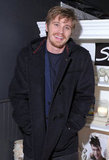 Garrett Hedlund hung out at Sundance.