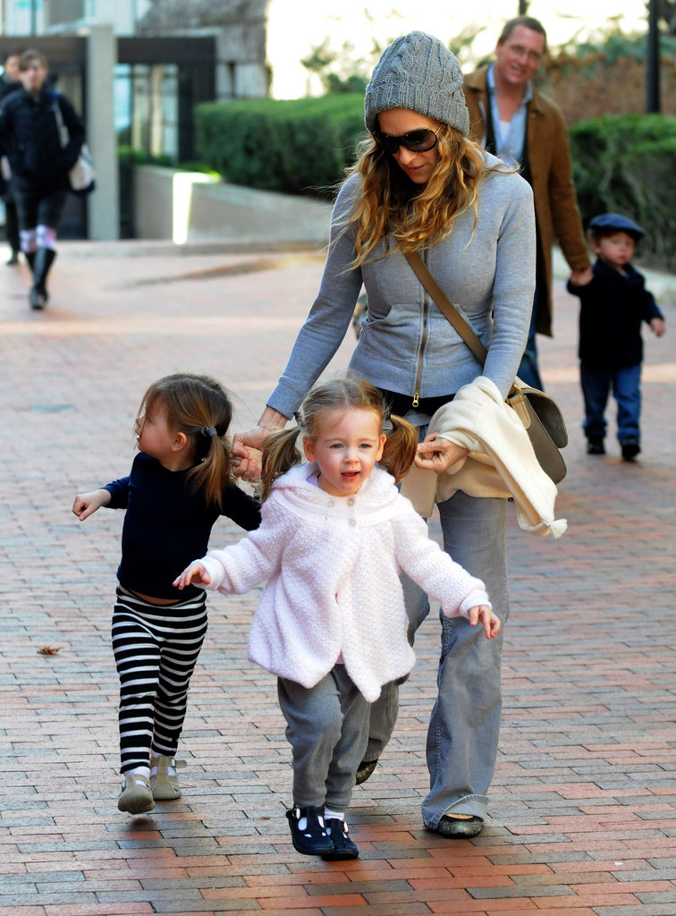 Sarah Jessica Parker enjoyed an afternoon with Tabitha Broderick and Loretta Broderick.