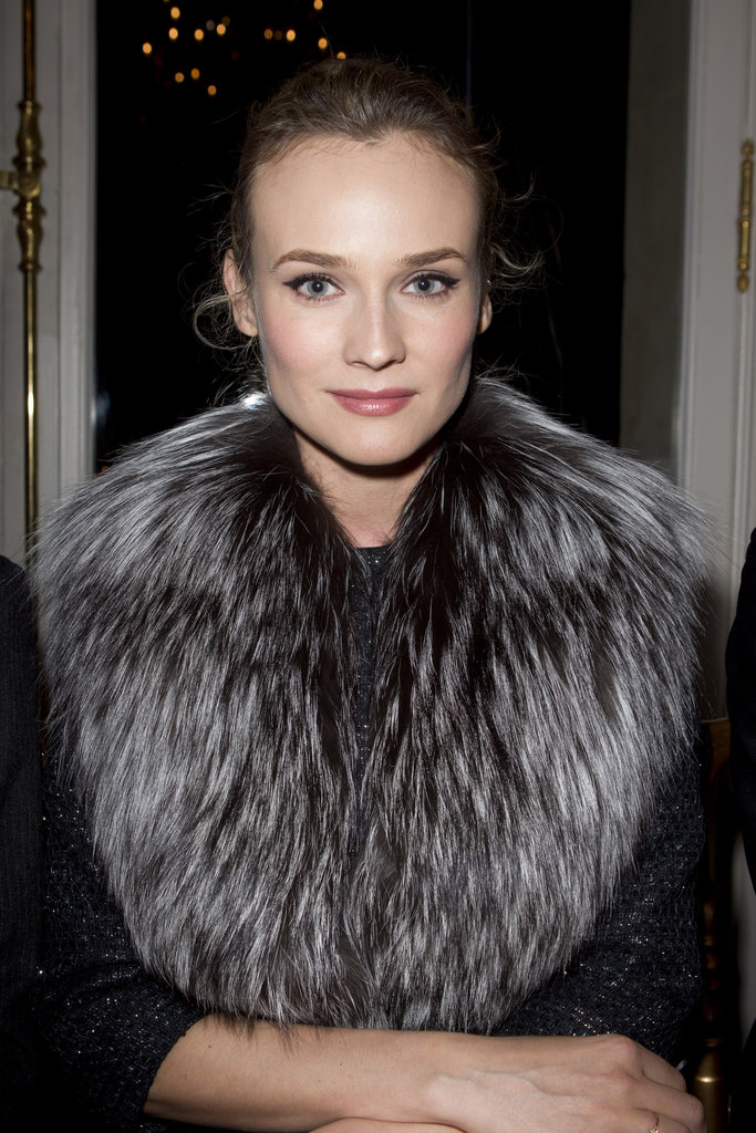 Diane Kruger at Paris Fashion Week.