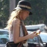 Blake Lively checked her phone in New Orleans.