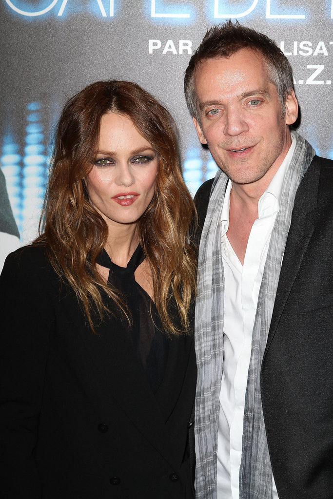 Vanessa Paradis and the Café de Flore director Jean-Marc Vallée attended the film's Parisian premiere.