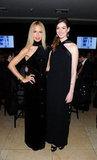 Anne Hathaway and Rachel Zoe were decked out in similar black gowns.