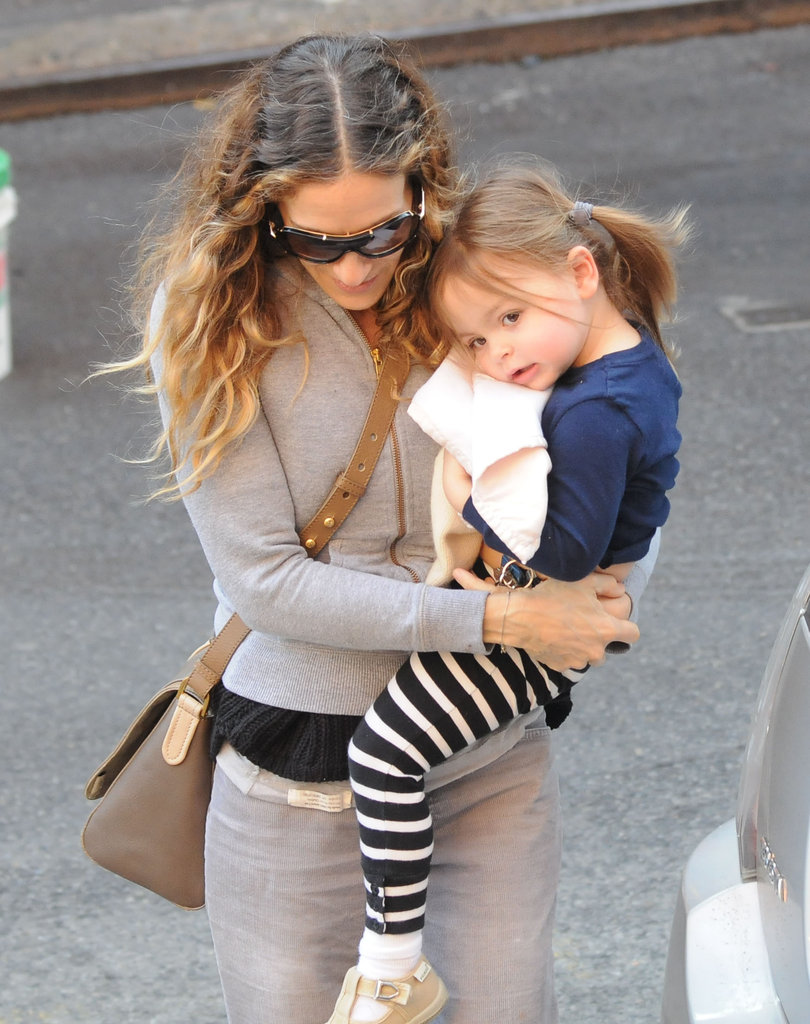 Sarah Jessica Parker and Tabitha Broderick returned home.