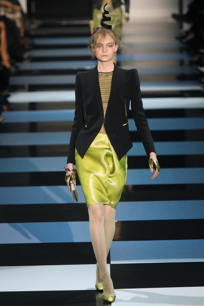 Couture Fashion Week: Armani Privé