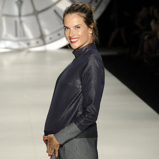 Pregnant Alessandra Ambrosio, Gisele, and Miranda Kerr at Fashion Shows