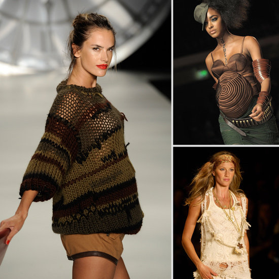 6 Expectant Models Who Rocked the Catwalk