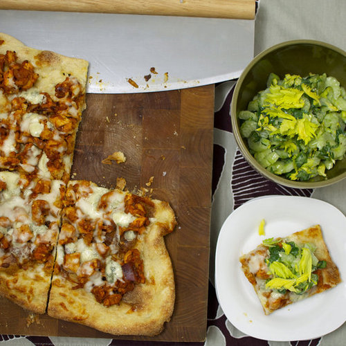 Buffalo Chicken Pizza Recipe