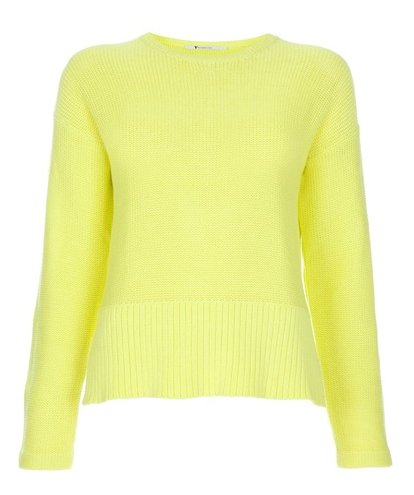 T by Alexander Wang neon sweater ($168)