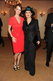 Salma Hayek and Oscar nominee Bérénice Bejo partied for Versace.