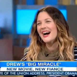 Video: Drew Barrymore Talks About Her Engagement