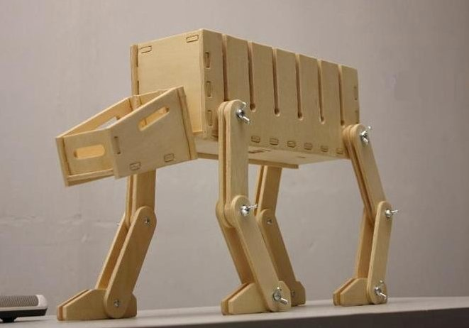 AT-AT-Inspired Cable Manager ($40)