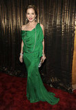Christina Applegate stepped out in an emerald green Emanuel Ungaro creation in 2009.