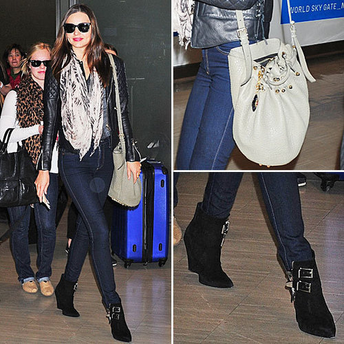 Miranda Kerr Alexander Wang Bag January 2012