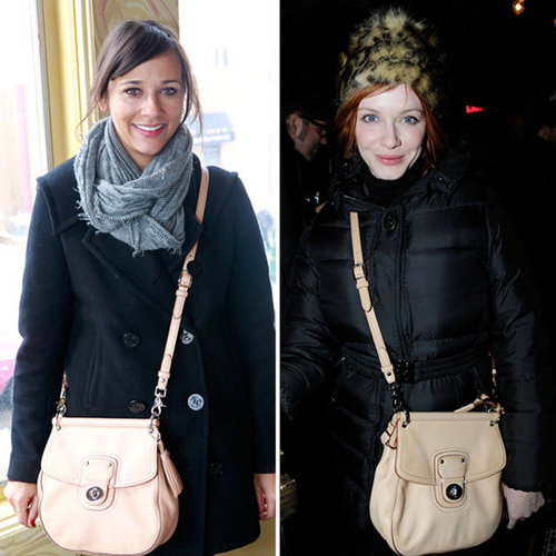 Rashida Jones Crossbody Bag at Sundance Film Festival 2012