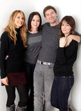 Lynn Shelton, Emily Blunt, Mark Duplass, and Rosemarie DeWitt were all smiles while promoting Your Sister's Sister.