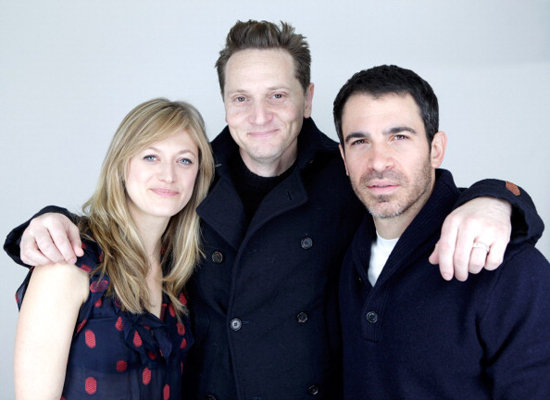 Matt Ross brought in his Twenty Eight Hotel Rooms costars Marin Ireland and Chris Messina for a photo op.