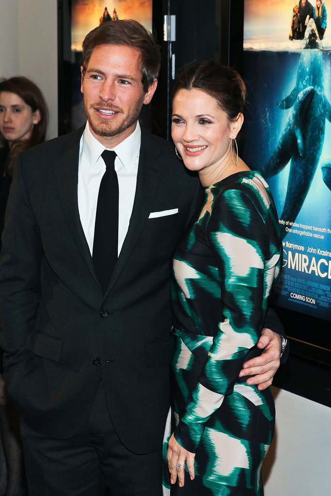 Drew Barrymore cozied up to Will Kopelman at the Washington DC premiere of Big Miracle in January 2012.