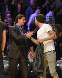 David Beckham said bye to Scott Disick.