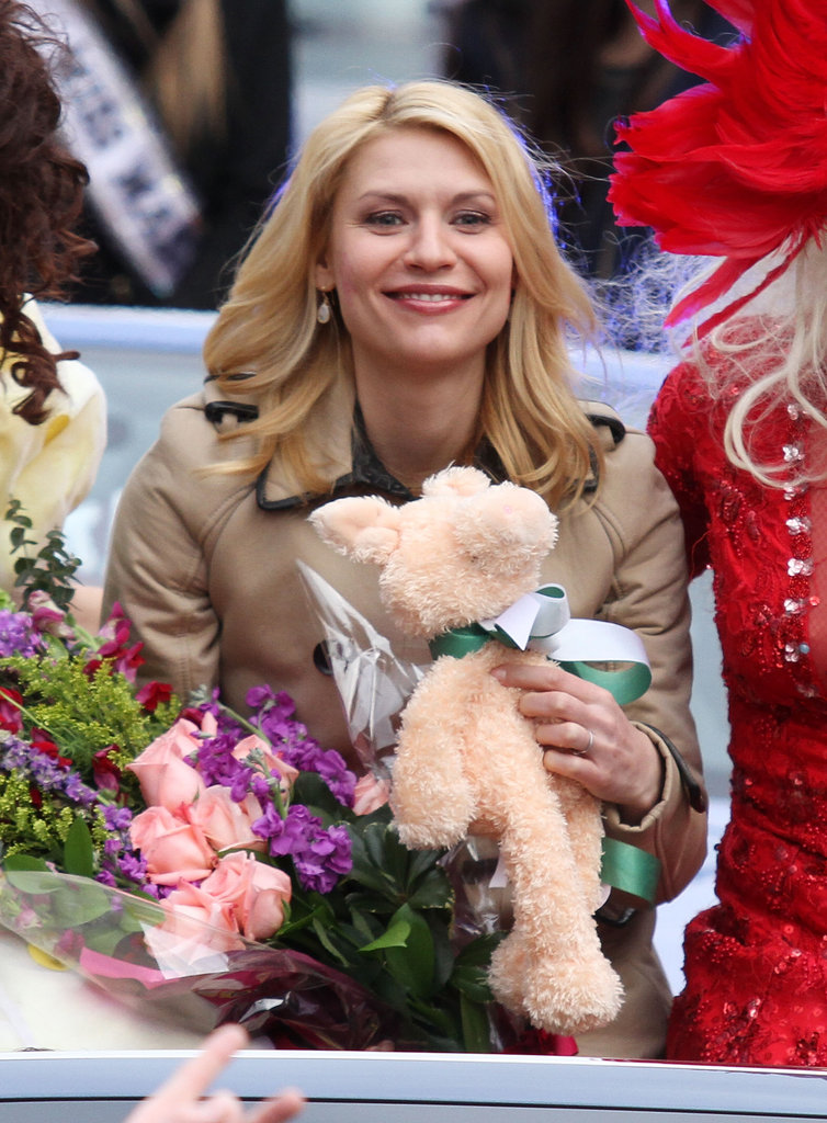 Claire Danes Gets Silly to Celebrate Her Hasty Pudding Honor
