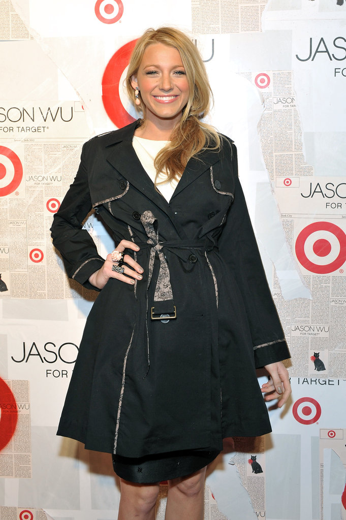 Blake Lively hit the red carpet for Jason Wu for Target.