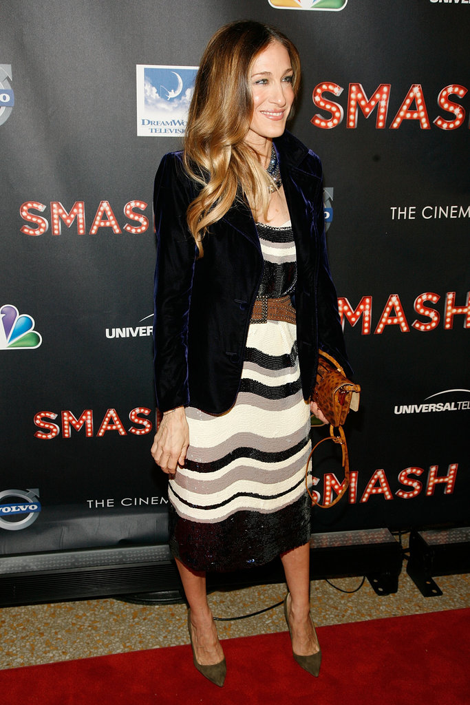 Sarah Jessica Parker attended the NBC Entertainment & Cinema Society with Volvo premiere of Smash at the Metropolitan Museum of Art.