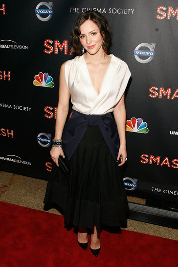 Katherine McPhee attended the NBC Entertainment & Cinema Society with Volvo premiere of Smash at the Metropolitan Museum of Art.