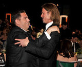 Jonah Hill and Brad Pitt