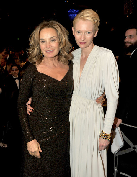 Jessica Lange and Tilda Swinton