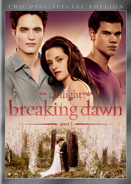 Breaking Dawn Part 1 on DVD