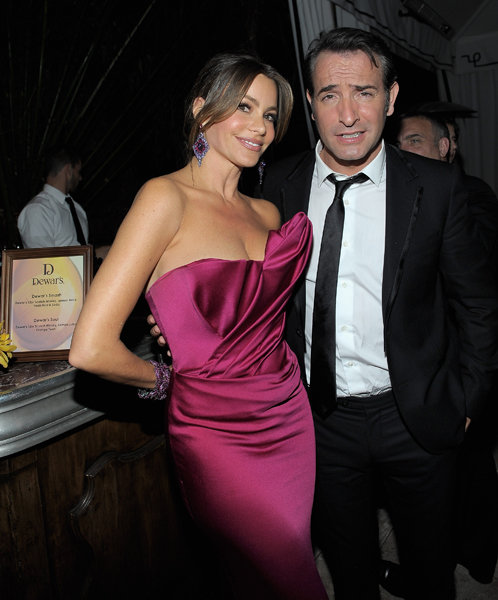 Sofia Vergara and Jean Dujardin