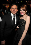 Steve Carrell and Emma Stone