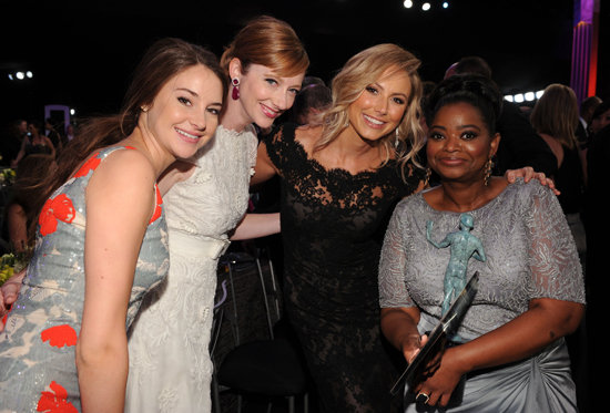 Shailene Woodley, Judy Greer, Stacy Keibler, and Octavia Spencer
