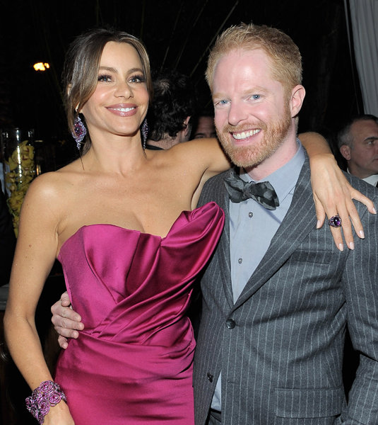 Sofia Vergara and Jesse Tyler Ferguson