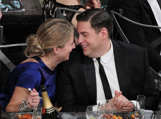 Ali Hoffman and Jonah Hill