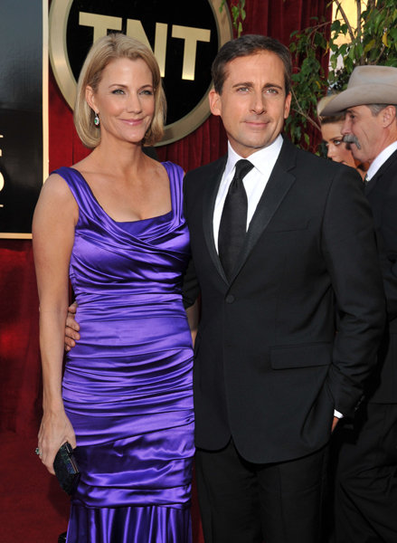 Nancy Walls and Steve Carrell