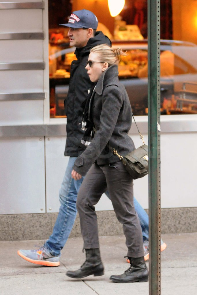 Scarlett Johansson out in NYC.