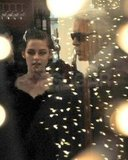 Kristen Stewart Gets Glamorous With Karl Lagerfeld in Paris