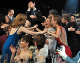 The Help cast got excited.