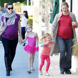Jennifer Garner Gets Good Time in With Her Girls Over the Weekend