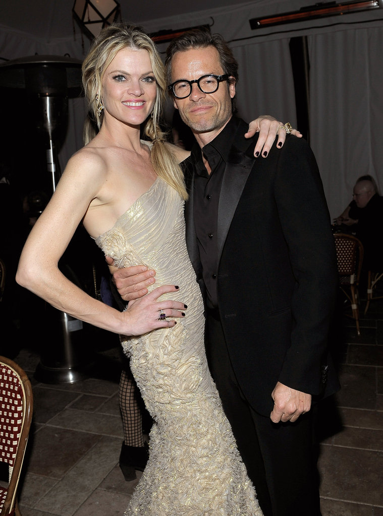 Guy Pearce looked happy to be hanging with Missi Pyle.