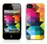 The prismatic Intermezzo iPhone HardCase ($35) for iPhone 4 has a protective polycarbonate shell.