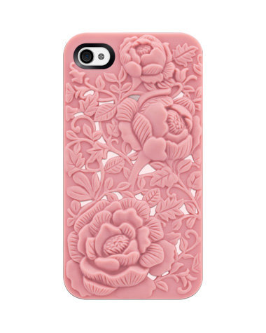Run your fingers over the three-dimensional floral design on the Switcheasy Avant-Garde Blossom iPhone 4/4S series ($35).