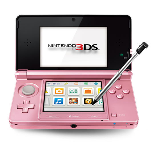Nintendo 3DS Goes Pink For Valentine's Day